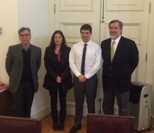 Patricio Martínez, Javiera Olivares, Marcelo Díaz, Alejandro Guillier