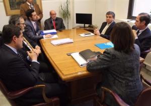 FOTO REUNIÓN CON MINISTRA DE SALUD